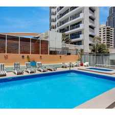 Rental info for BEACHCOMBER - ELECTRICITY INCLUDED FURNISHED STUDIO APARTMENT in the Surfers Paradise area