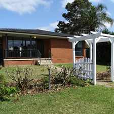 Rental info for LOVELY FAMILY HOME in the Sydney area