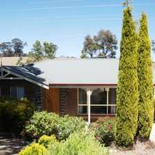Rental info for LOVELY HOME WITH ADDITIONAL ASSET OF A LARGE SHED in the Mount Barker area