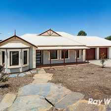 Rental info for Beautiful Home With Stunning Views in the Mount Barker area