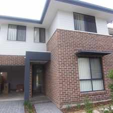 Rental info for BEAUTIFULLY DESIGNED 3 BEDROOM HOME in the Sydney area