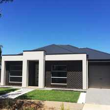 Rental info for Brand New 3 Bedroom Home - A minutes drive from Greenacres shopping centre in the Adelaide area