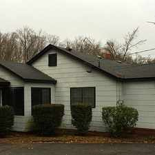 Rental info for 860 sq. ft. - must see to believe. Single Car Garage!
