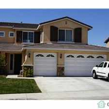 Rental info for This home is looking for a great family to rent in an upscale area of Moreno Valley. Specifications include 2914 square feet home with 5 bedrooms, 1 bonus room, and 3 full bathrooms, 3 car garage.
