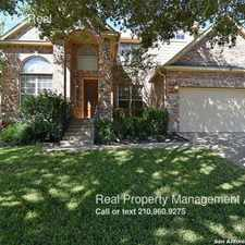 Rental info for 535 Roble Real in the San Antonio area