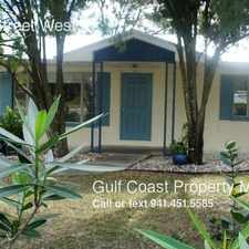 Rental info for 2205 10th Street West