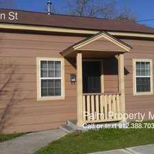 Rental info for 734 E Bolton St in the Savannah area