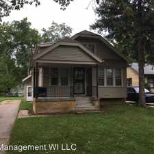 Rental info for 4965 N 55th St A - 53218 in the Milwaukee area