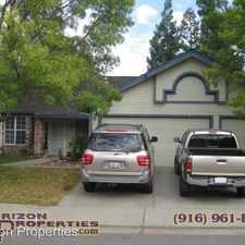 Rental info for 3921 Balverne Ct. in the Antelope area