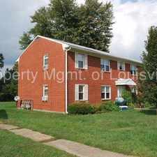 Rental info for 1BD/1BA Apartment in the Louisville-Jefferson area