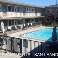 Rental info for 14377 BANCROFT AVENUE in the Halcyon-Foothill area
