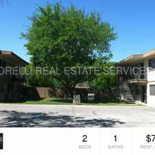 Rental info for 2 Bedroom 1 Bath Apartment for Rent!
