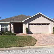 Rental info for 3865 Osprey Pointe Circle