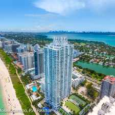 Rental info for 6365 Collins Ave
