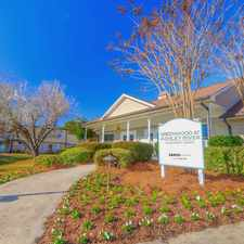 Rental info for Greenwood at Ashley River