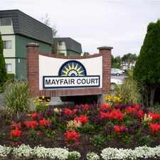 Rental info for Wayne And National Apartments At Mayfair Court