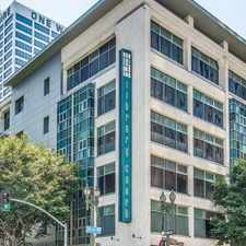 Rental info for 630 West 6th Street West 6th Street #406 in the Los Angeles area