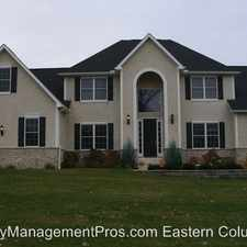 Rental info for 4858 Augusta Woods Ct. in the Westerville area