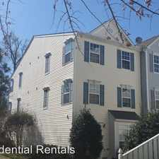 Rental info for 8630 Neuse Landing Lane 106