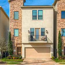 Rental info for Live Oak St & Pease St in the Houston area