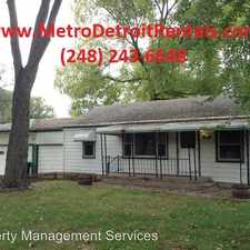 Rental info for 11300 LINCOLN**