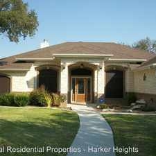 Rental info for 207 Cattail in the Harker Heights area