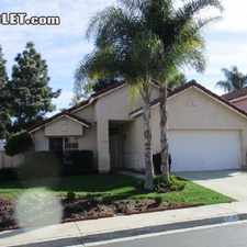 Rental info for Two Bedroom In Northern San Diego in the Vista area