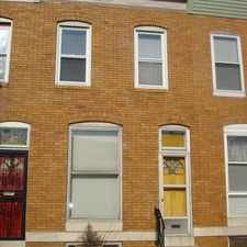 Rental info for 3526 Noble Street in the Baltimore area