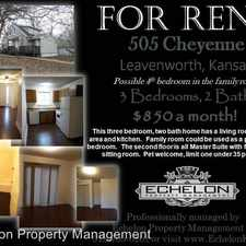 Rental info for 505 Cheyenne