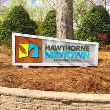 Rental info for Hawthorne Midtown in the Raleigh area