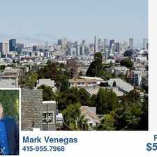 Rental info for Coldwell Banker Rentals, Real Estate Sales for Buy in the Bernal Heights area