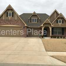 Rental info for Bixby New Construcition 4 Bed 2 Bath 3 Car