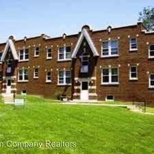Rental info for 1264 Hawthorne Place Unit B in the St. Louis area