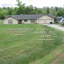 Rental info for 12625 Rough & Ready Road