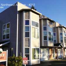 Rental info for 3518 Northwest Avenue in the Bellingham area