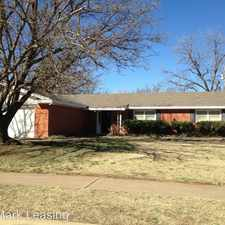 Rental info for 5416 30th Street in the Lubbock area