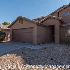 Rental info for 15741 W Papago St