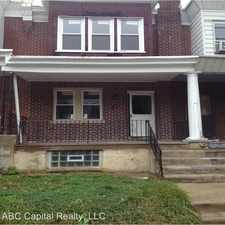 Rental info for 4926 Boudinot St in the Olney area