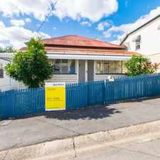 Rental info for CUTE COTTACUTE COTTAGE IN PETRIE TERRACE - DON'T MISS OUT RENT REDUCED!!