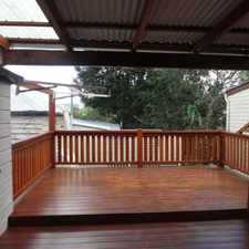 Rental info for BEAUTIFULLY RENOVATED WORKERS COTTAGE in the Brisbane City area