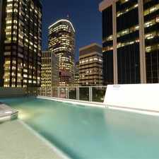"""Rental info for AFFORDABLE 2 BEDDER IN """"AURORA TOWERS"""" in the Brisbane City area"""