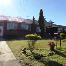 Rental info for Great Location! 3 bedroom family home with extra living space.