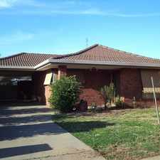 "Rental info for ""Application Pending"" Centrally Located Family Home in the Echuca area"