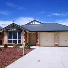 Rental info for Spacious 3 Bedroom Family Home LEASE PENDING in the Adelaide area