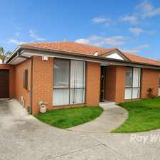 Rental info for A Unit With The Lot! in the Springvale South area