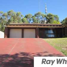 Rental info for LARGE FAMILY HOME - AIR CONDITIONING - PETS CONSIDERED in the South Bunbury area