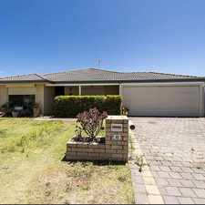 Rental info for Family home with rear access in the Warnbro area