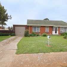 Rental info for Lovely 3 bedroom home in the Adelaide area