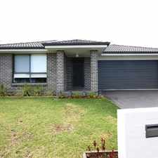 Rental info for Near new 4 bedroom home in the Sydney area