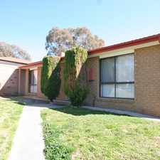 Rental info for Three bedroom home in convenient location! in the Calwell area